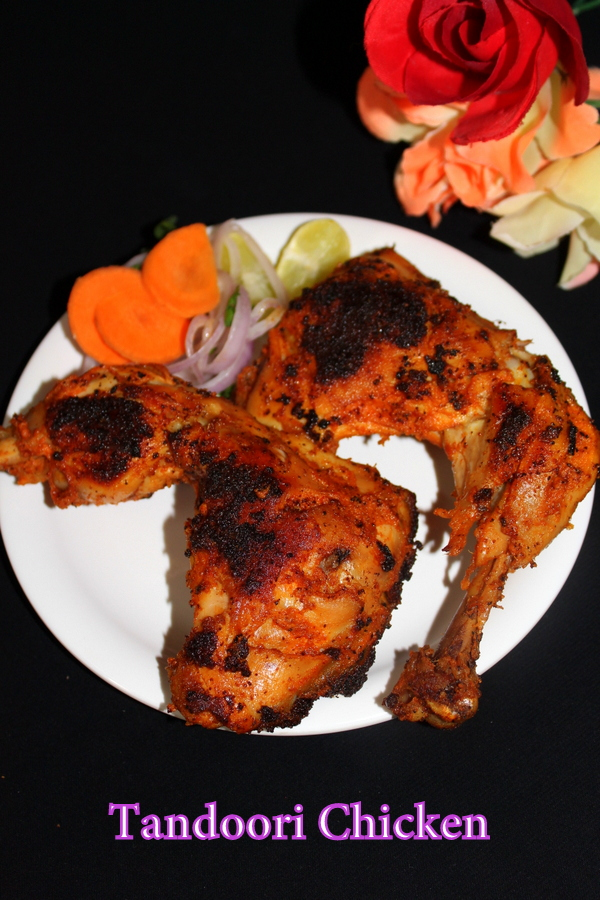 Tandoori Chicken Without Oven Yummy Indian Kitchen