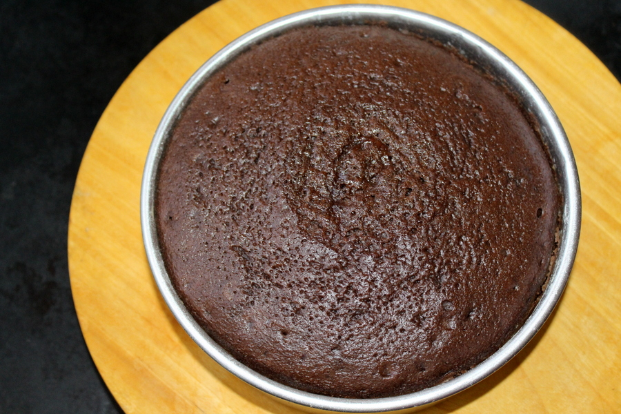 How We Make Eggless Chocolate Cake