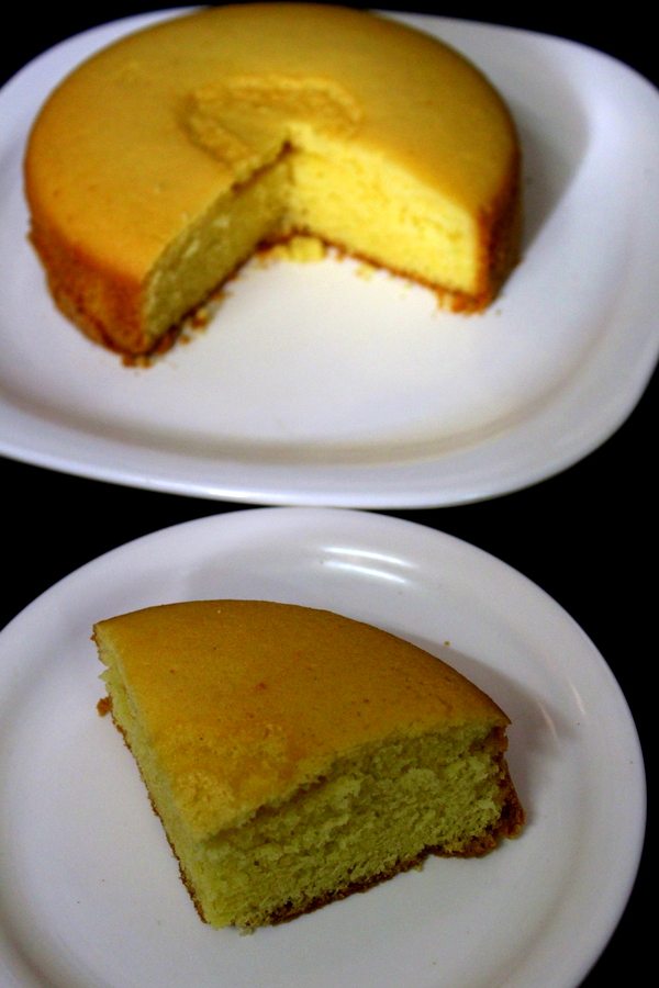 pressure cooker cake or basic plain vanilla sponge cake without oven