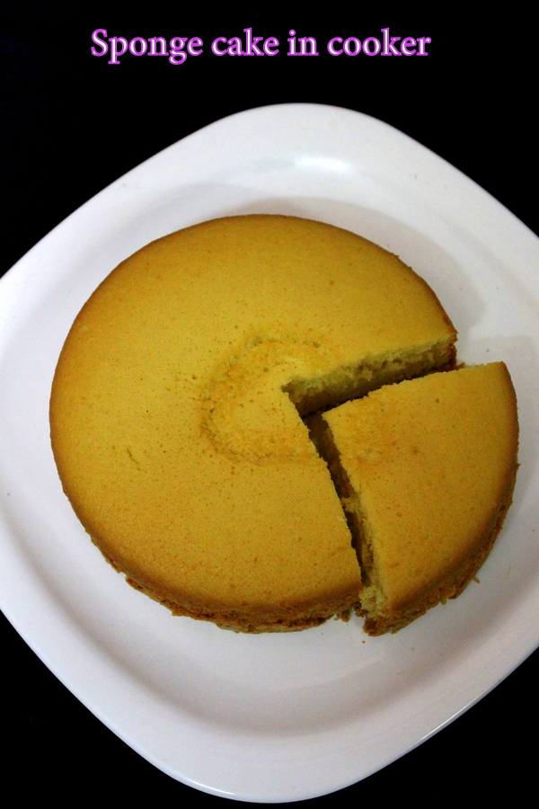 How To Make A Sponge Cake Without Oven