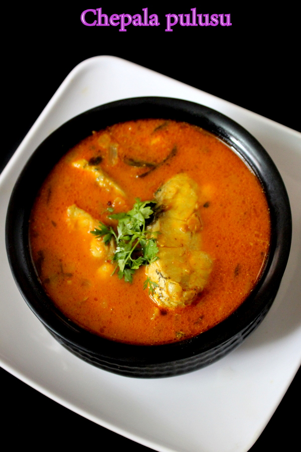 Chepala pulusu andhra fish curry recipe yummy indian kitchen sea food is highly preferred in south india and there are few sea food recipes like prawns fry andhra fish fry on my blog that could be tried along with forumfinder Gallery