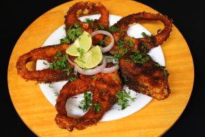 how to fry fish or andhra style chepala vepudu
