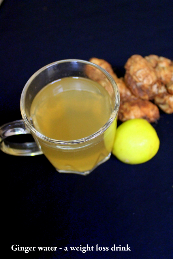 ginger water for weight loss, ginger water recipe