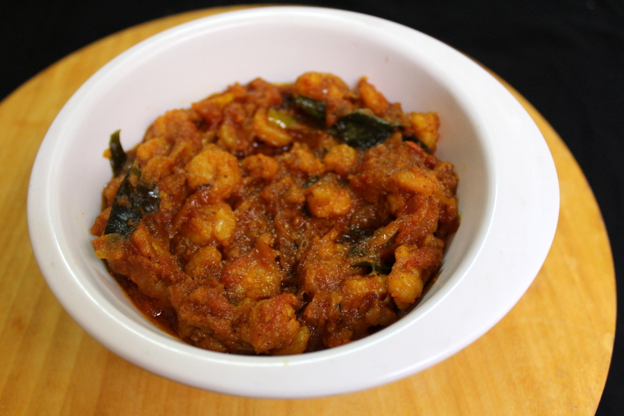 prawn curry recipe or prawn masala curry