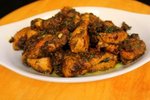 hariyali chicken recipe or easy and tasty hariyali chicken