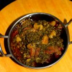 how to make palak gosht