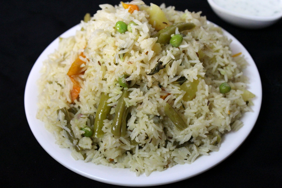 veg pulao recipe in hindi or vegetable pulao in hindi