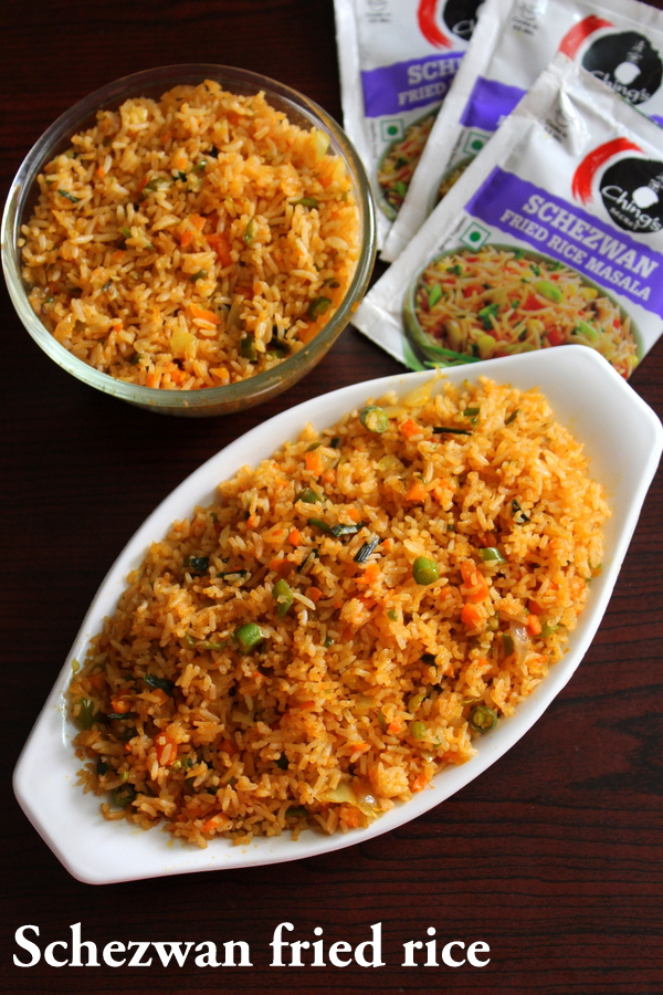 chings schezwan fried rice masala