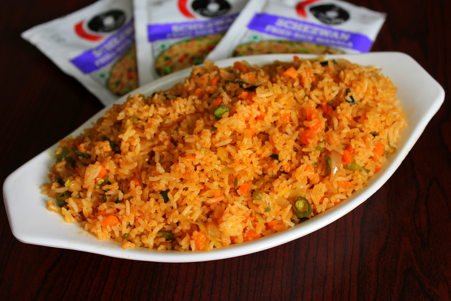 Chings schezwan fried rice ching chinese rice yummy indian kitchen chings masalas are the best way to make quick recipes and for those who work at 9 5 jobs these are the best options to have in theri kitchens as these ccuart Image collections