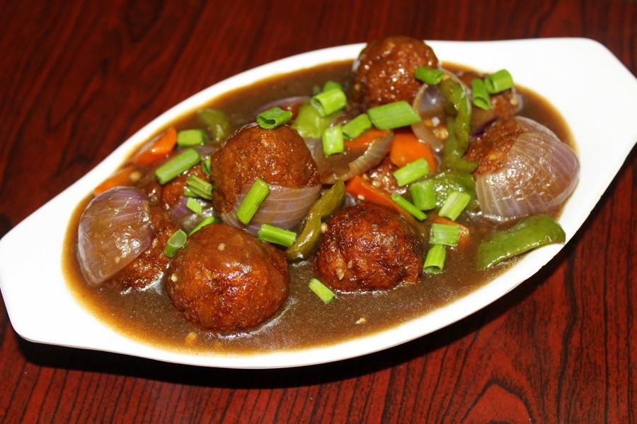 chings veg manchurian masala