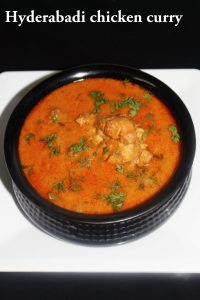 chicken hyderabadi