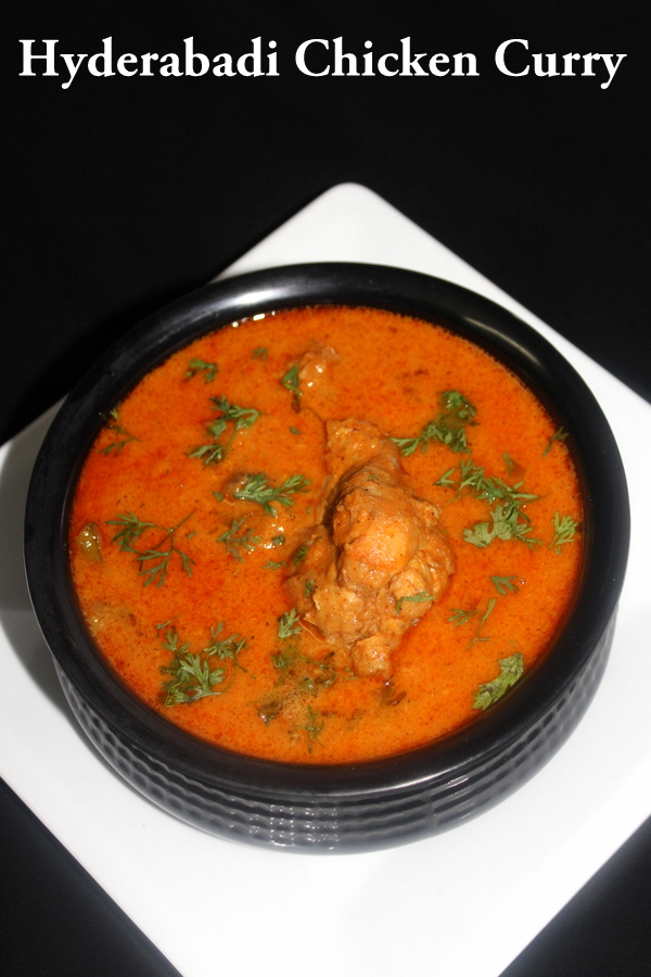 chicken hyderabadi or hyderabadi chicken curry