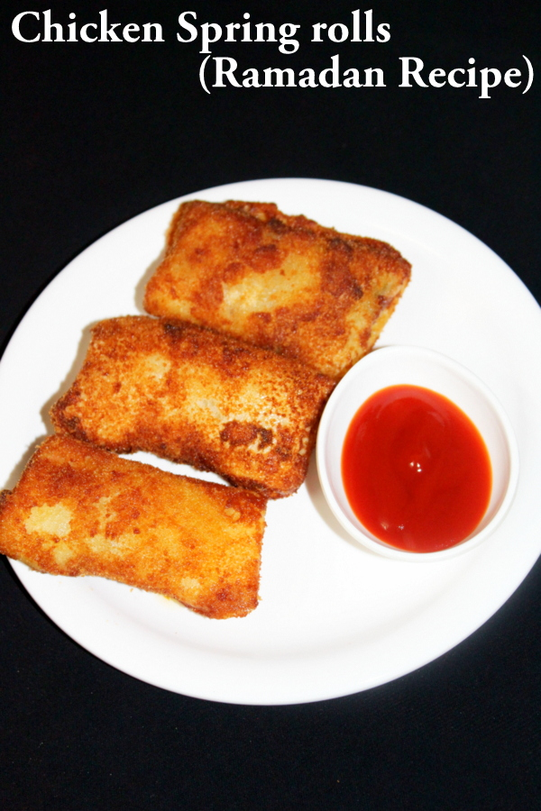 chicken spring roll recipe