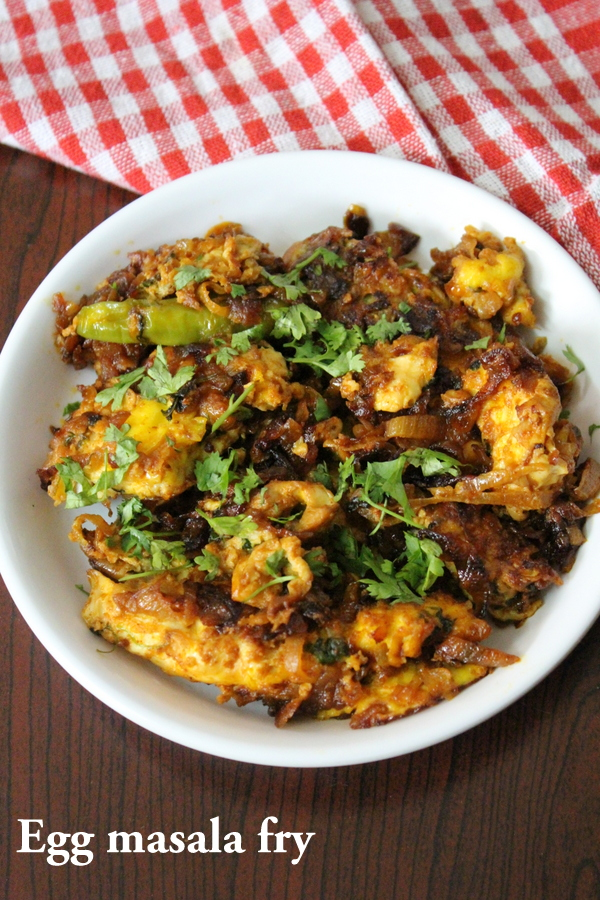 egg masala fry