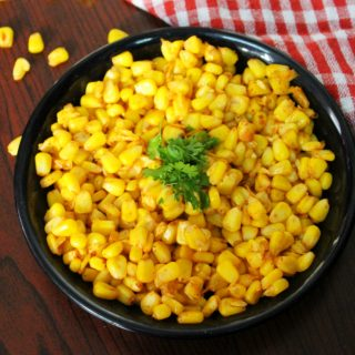 masala corn recipe or sweet corn masala