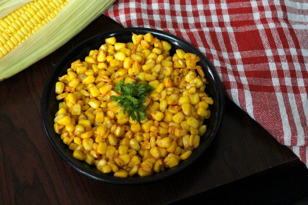 sweet corn masala