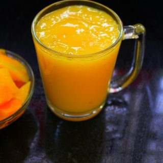 mango juice recipe or mango drink