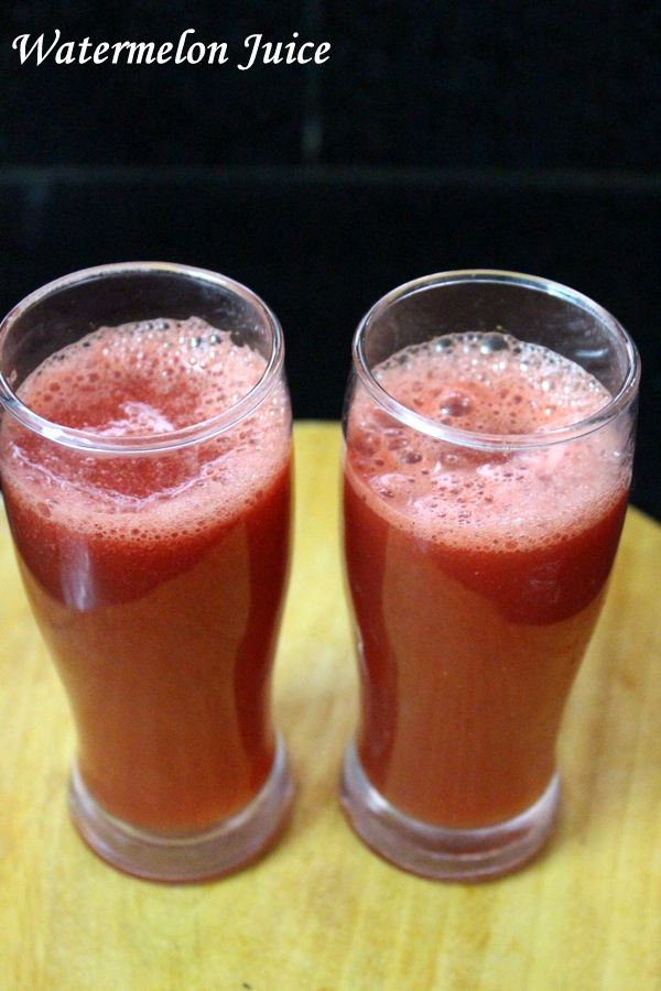 watermelon juice recipe or watermelon drink recipe