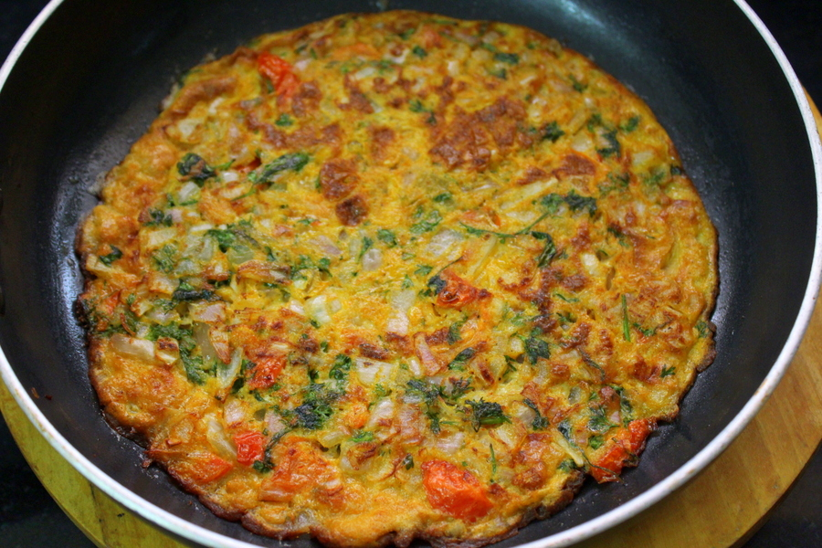 how to make masala omelette