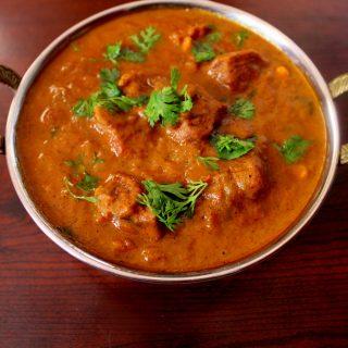 mutton kulambu in tamil style or mutton kuzhambu