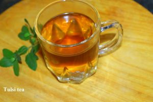 tulsi tea or tulsi leaves for weight loss