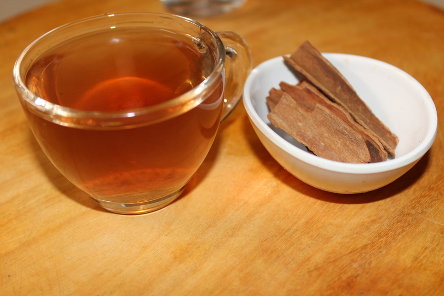 weight loss drink placed in a small bowl