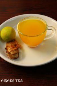 ginger tea for cold