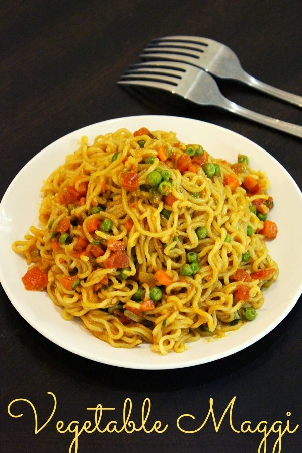vegetable maggi recipe