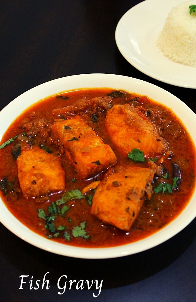 masala fish gravy recipe