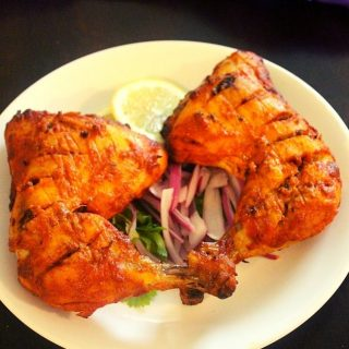 tandoori chicken in oven