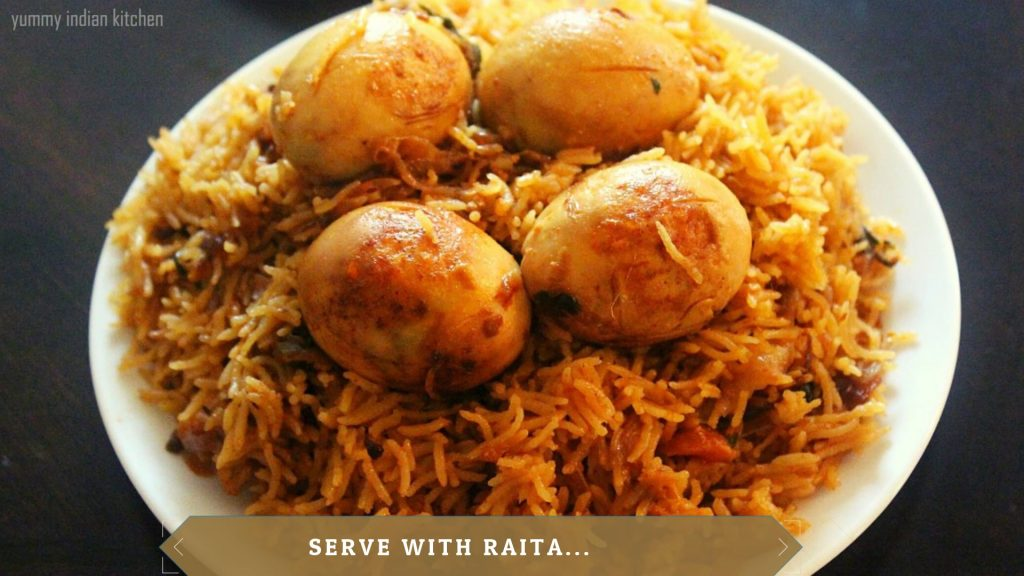 egg biryani in cooker