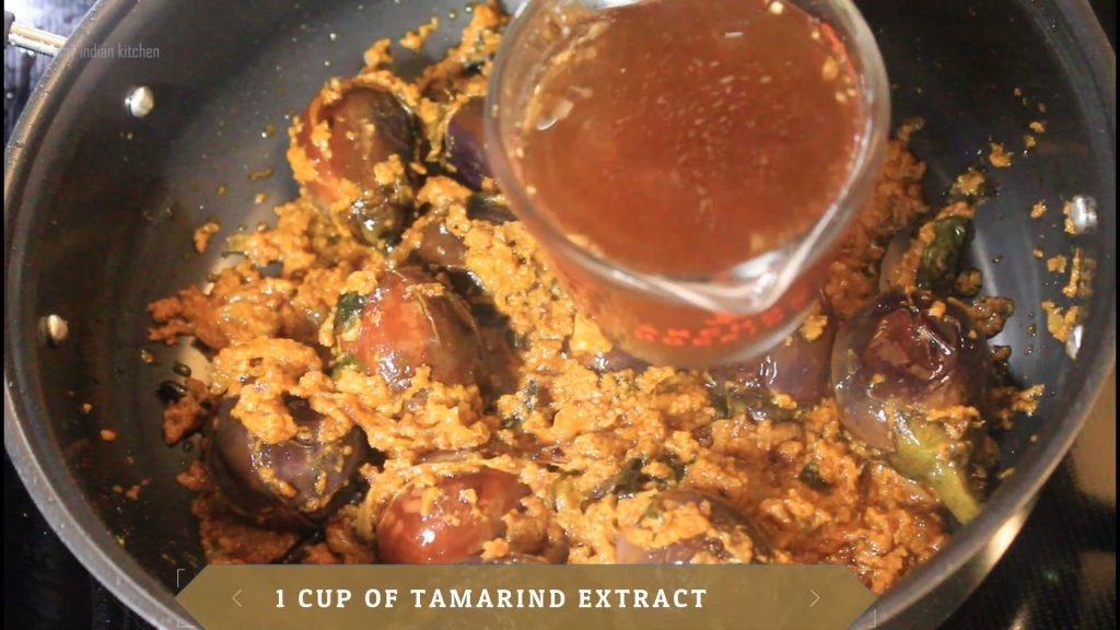 Adding the tamarind extract