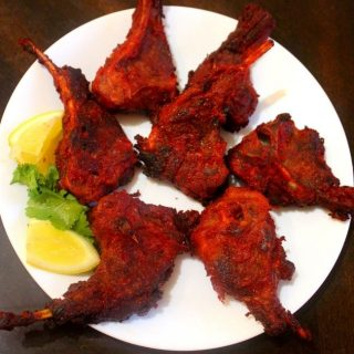 mutton chops fry recipe