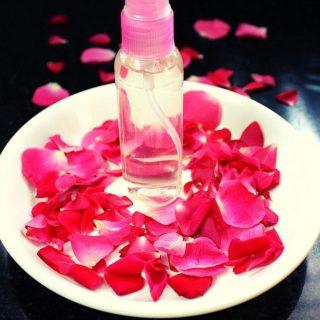homemade rose water for face