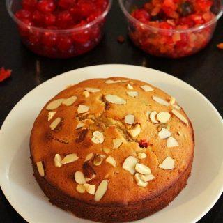 plum cake or christmas cake