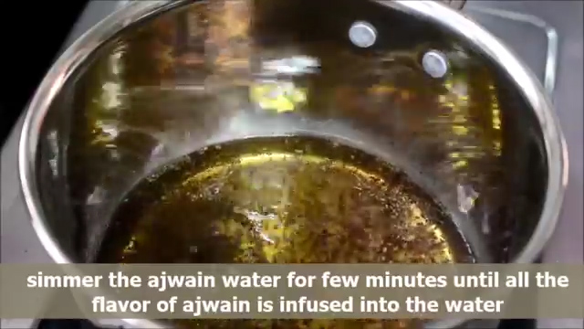 boiling the water