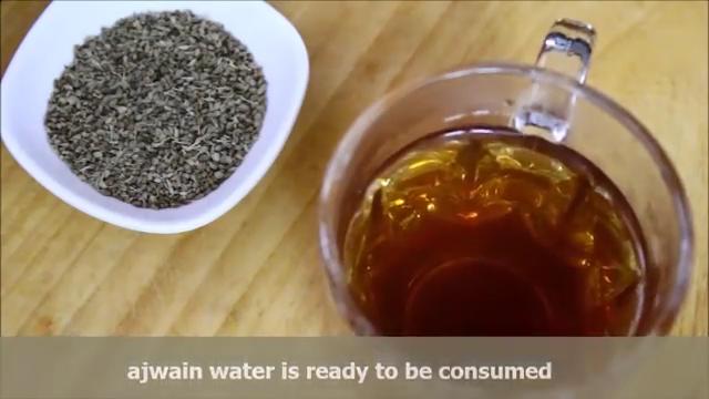 serve ajwain water
