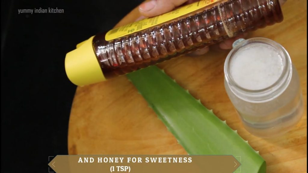 serve with honey added or lemon