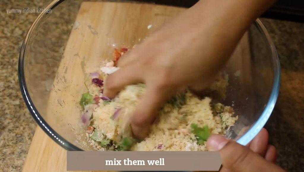 Mixing like a dough