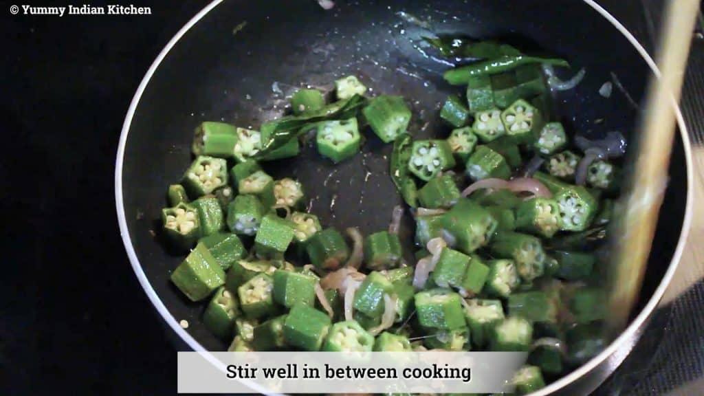 stir in between