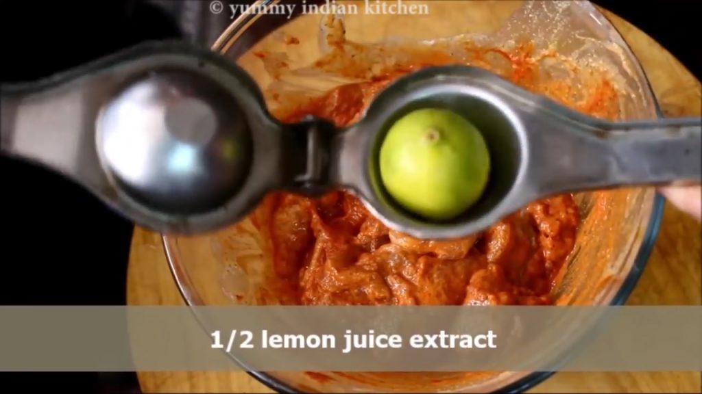 add lemon juice
