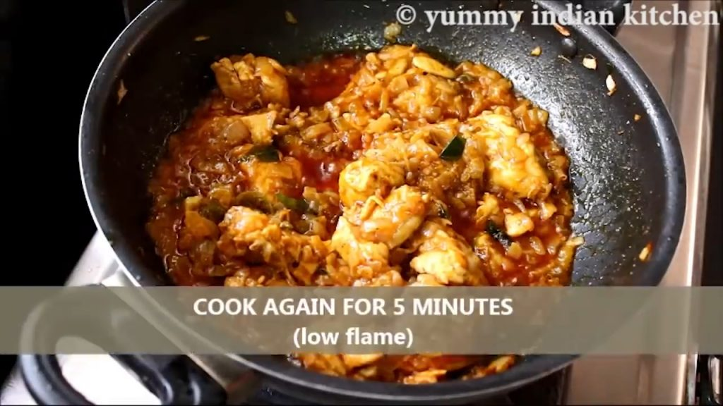 cook chicken fry recipe for 5 minutes