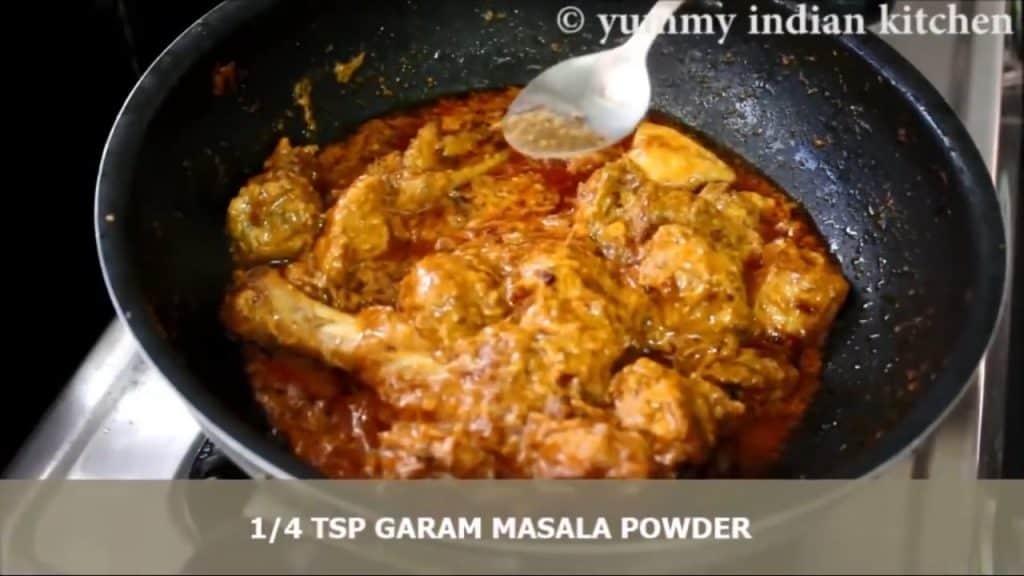 masala chicken gravy