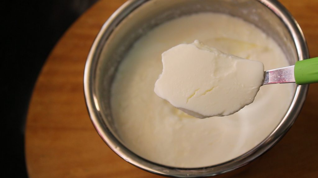 making curd at home