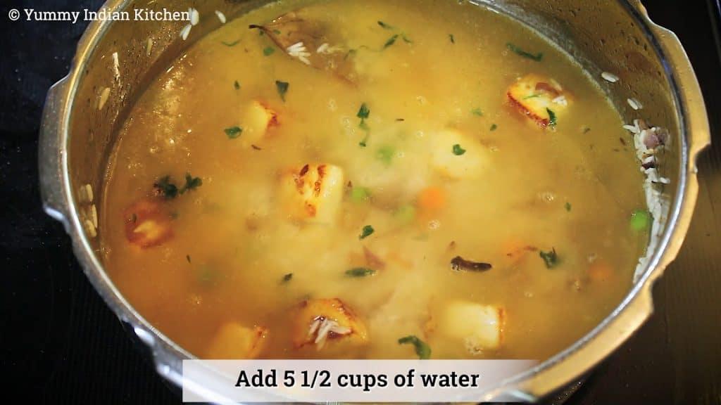 how to make paneer pulao