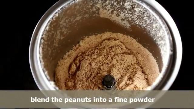 powder them finely