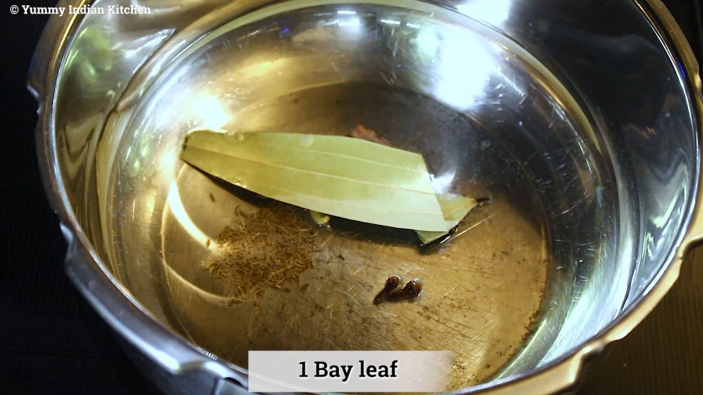 Add whole spices such as cloves, cardamoms, cinnamon stick