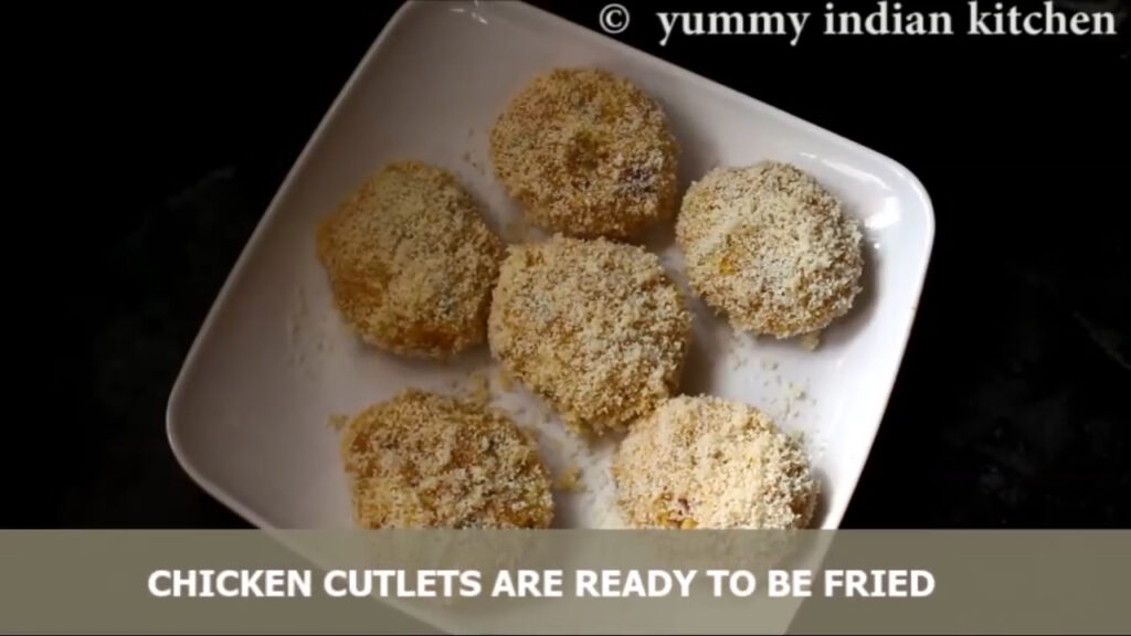 coated chicken cutlets