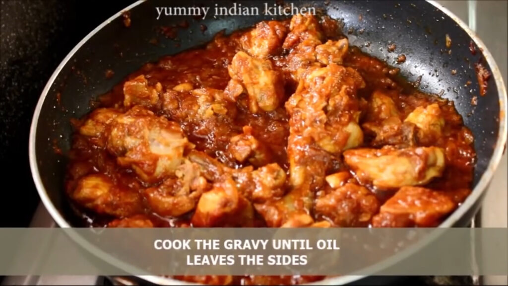 Cooking the gravy