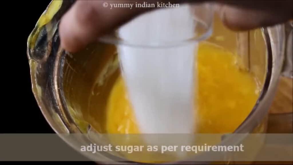 adding some more sugar